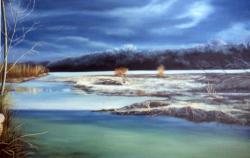 Autunno sul fiume Magra